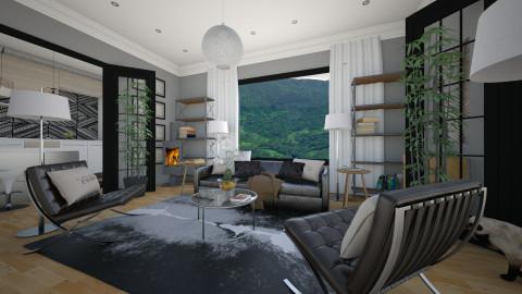 easy sofa - Modern - Living room  - by Evangeline_The_Unicorn
