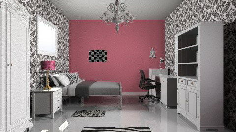 Dream Bedroom - Glamour - Bedroom  - by Fatima15