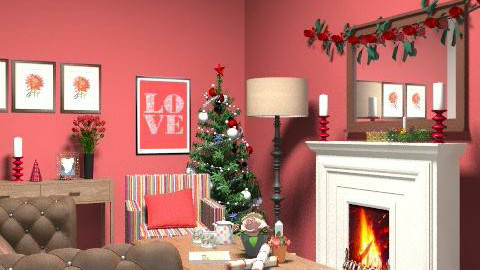 happyholidays! - Country - Living room  - by yasemin04