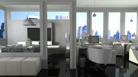 Flexible Workspace2 - Modern - Office  - by Leticia Camargo_175