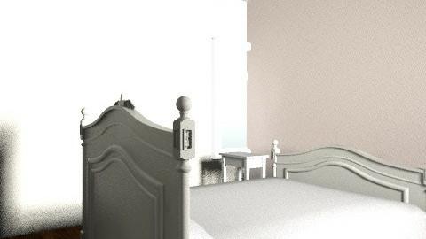 nicole's bedroom - Vintage - Bedroom  - by nicolesosa