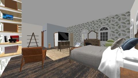 habitaciones familiares  - Bedroom  - by luz111