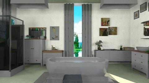 Pure bathroom  - Classic - Bathroom  - by bluevioletspoprock