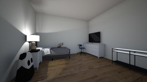 habitacion de javier - Modern - Bedroom  - by LeyendaXX89