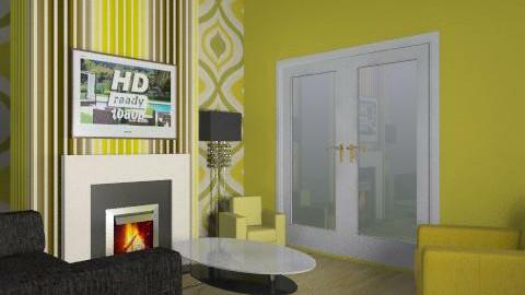 leah - Retro - Living room  - by leahk2011