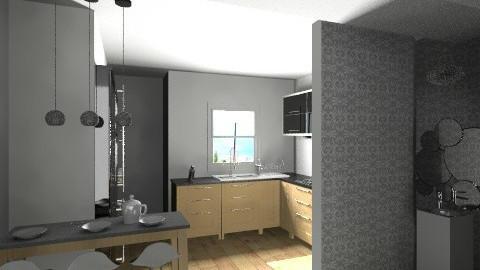 sarah bitan kitchen - Kitchen - by rebeccaamram