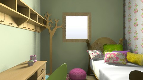 tommelise room1 - Vintage - Kids room  - by karianna