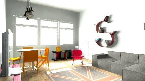 sweet home new - Retro - by janaina_santos