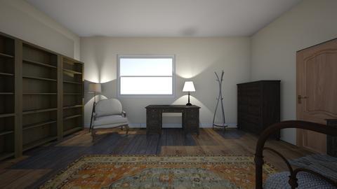 emilie desk wide - Office  - by lilyculbertson
