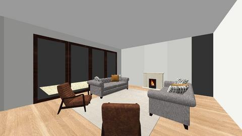 Justin_Ashley Wood - Country - Living room  - by kmccolly