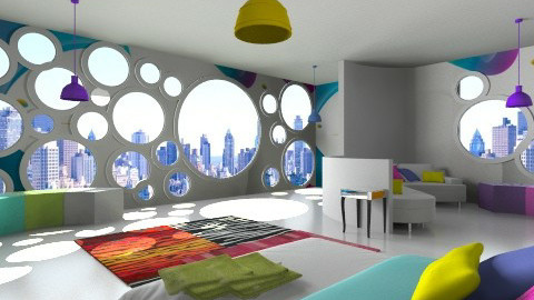The Home of IOS7 - Modern - Bedroom  - by Wozniazailia_