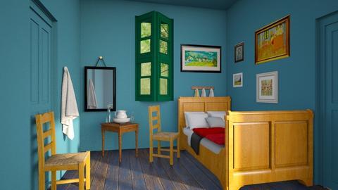 Van Gogh bedroom contest - by Lo89