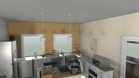My Dream Home 1 Floor - Minimal - Kitchen  - by lbarriosch