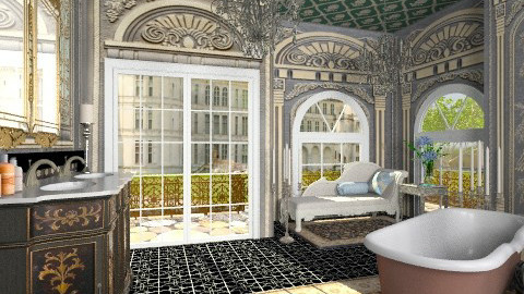 Luxurious Bath - Classic - Bathroom  - by Bibiche