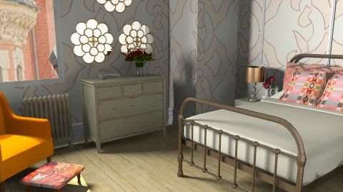 Annie, Version Two - Eclectic - Bedroom  - by allysonrose