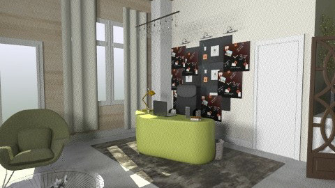home office 1 - Modern - Office - by alepa