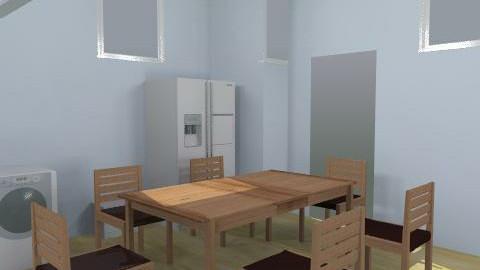 kitchen - Dining Room  - by Natasha Brembah