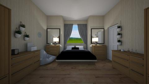 Improvised Space Bedroom - Modern - Bedroom  - by Mazzz02