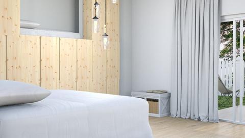 Wood Loft in the wall - Modern - by matildabeast