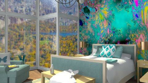 The sweetest illusion - Modern - Bedroom  - by alleypea