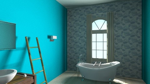 bathe away - Vintage - Bathroom  - by bethcot