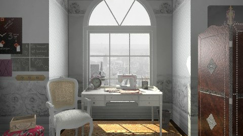 Designers Society Studio - Glamour - Office  - by leandrakatelyn