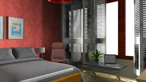 My simple room - Modern - Bedroom  - by blondina14