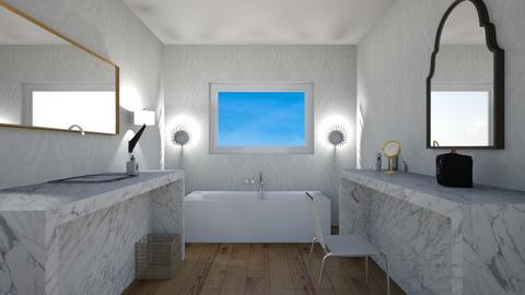Bathroom_again - Bathroom  - by Babybluewolfboo