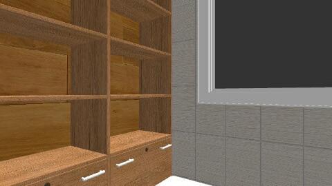 salle bain 1 - Rustic - Bathroom  - by mjmcgowan