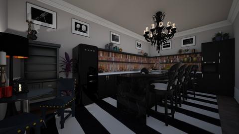 Modern Goth - Kitchen  - by Jodie Scalf