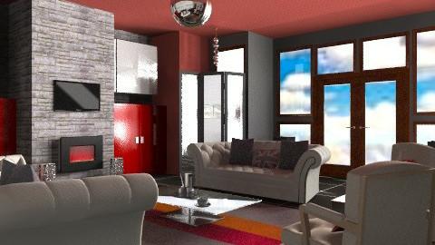 Stone - Eclectic - Living room  - by mrschicken