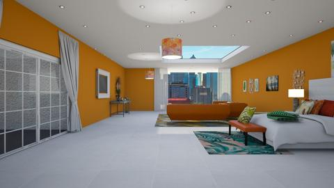 autumn bedroom - Bedroom  - by myssachidz