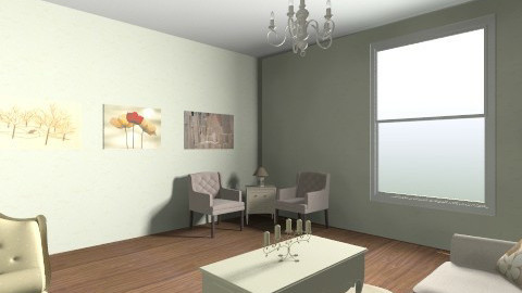 nice room - Retro - Living room  - by andreamar