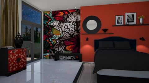 Butterfly - Bedroom - by yonvie