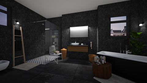 Bathroom dark - Bathroom  - by martinabb