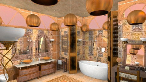 lux bathroom - Classic - Bathroom  - by lamzoi