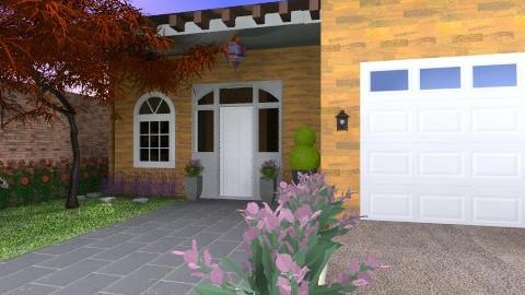 Curb Appeal - Modern - Garden  - by chloedaniella
