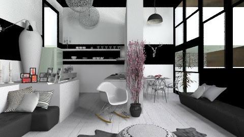 WhiteKitchen - Modern - Kitchen  - by StienAerts