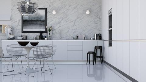 Reflective  - Modern - Kitchen  - by HenkRetro1960
