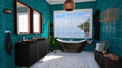 master bath copper - Bathroom - by Ritix