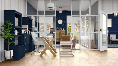 Despacho azul - Office  - by Charipis home