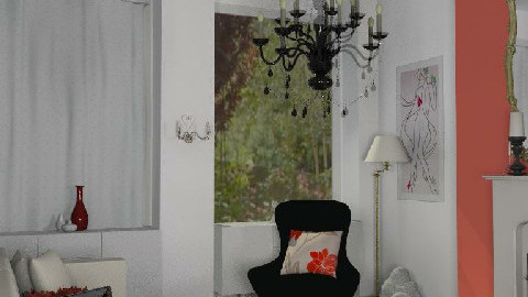 eclectic red3 - Eclectic - Living room  - by sparx78