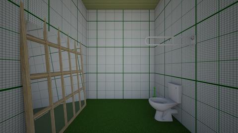 Xiomara Bathroom GREEN - Bathroom  - by Xiomara_12