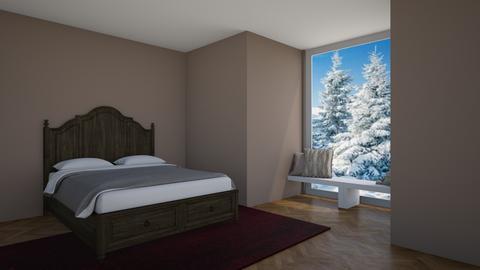 Bedroom contest_cabin - Bedroom  - by artsy_naturelover