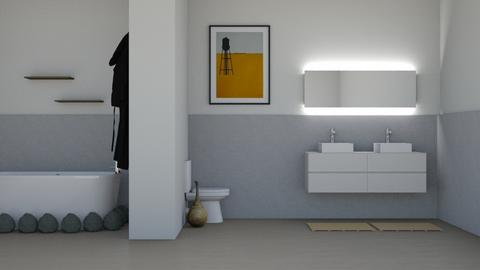 SandStone - Bathroom  - by designcat31