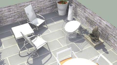 Terrace  - Minimal - Garden  - by JamesTri