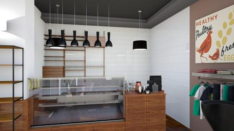 Gallery Cafe Bar View 2 - Modern - by Ejad Shukri