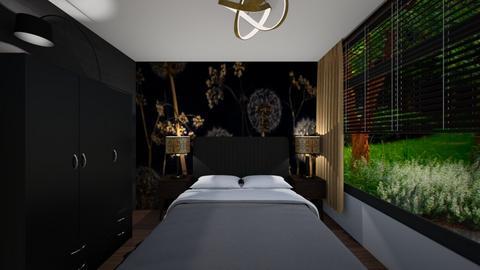 Andre de Gouw slaapkamer - by Lokke Interieurstyling