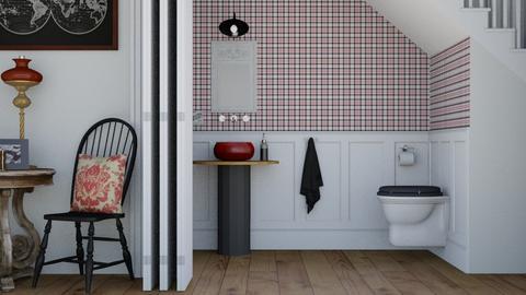 sotto la scala - Bathroom  - by Charipis home