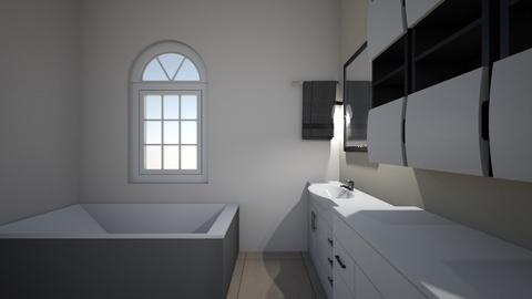 Mock Project Design - Bathroom  - by elysemastison